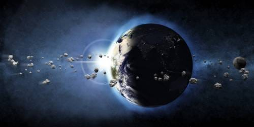 Thousands Of Asteroids Whizz Past Earth