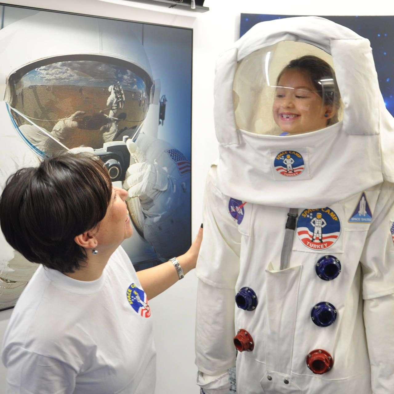 Family Space Camp Tour